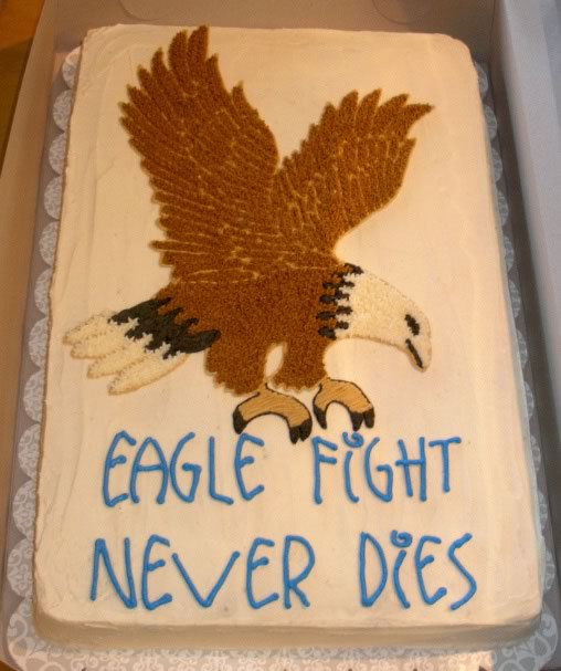 Eagle Fight Cake